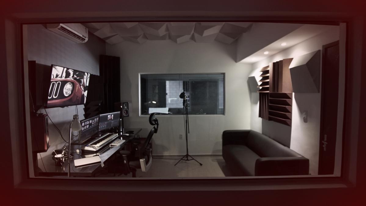 Sala de Pós-Produção e Finalização